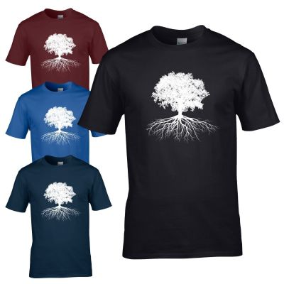 Tree of Life T-Shirt - Celtic Gardener Wicca Druid Pagan Mens Gift Top